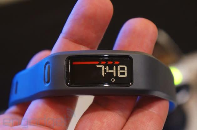 Garmin's Vivofit: hands-on with yet another fitness tracker (video)