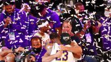 Basket - NBA - NBA : le sacre des Los Angeles Lakers en chiffres