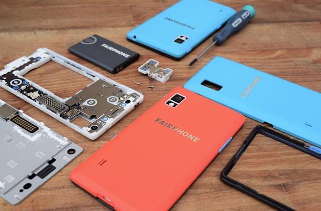 The repairable Fairphone 2 gets an Android update five years after launch