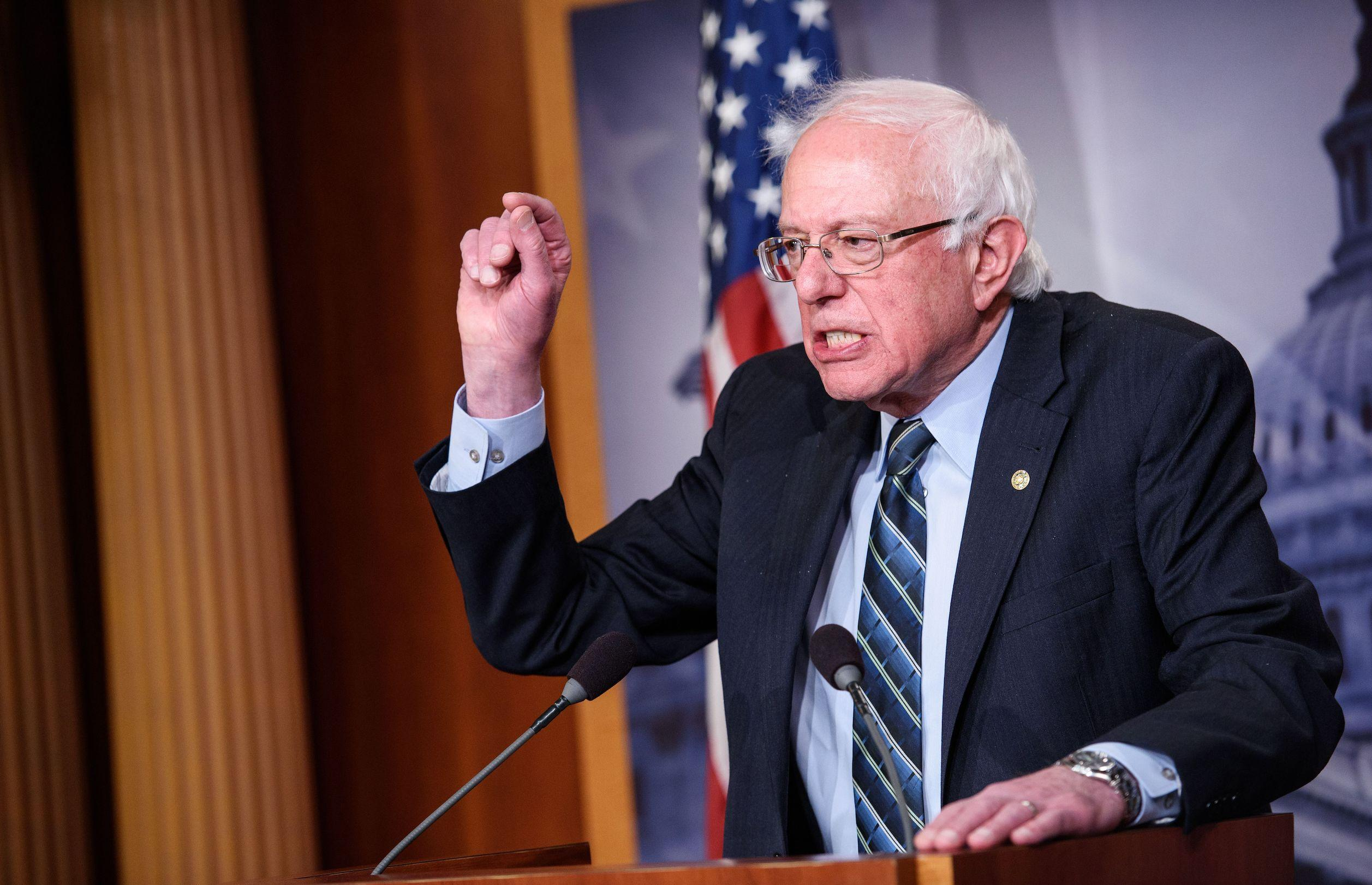 Bernie Sanders slams 'the Trump tax scam' after Ford announces layoffs
