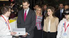 La reina Letizia luce con más peso y le sientan fenomenal