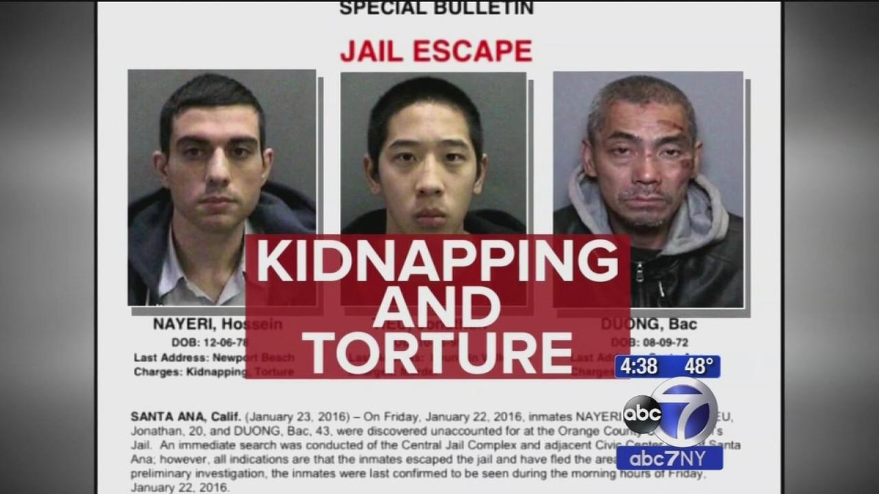 Five arrests made in connection with California jailhouse escape