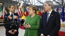 Merkel e Macron exigem que Putin pressione Síria para suspender ataques aéreos
