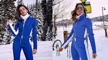 Anitta curte férias na neve com look de quase R$ 5 mil