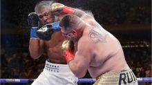 Anthony Joshua denies rumours of panic attack prior to knockout loss