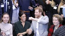 Prince Harry and Meghan Markle can't keep their hands off each other in Sussex