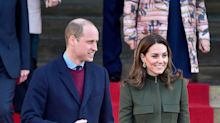 Prince William, Kate Middleton Make First Public Appearance Since Meghan, Harry Exit