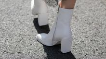 Wear white all winter with these chic booties