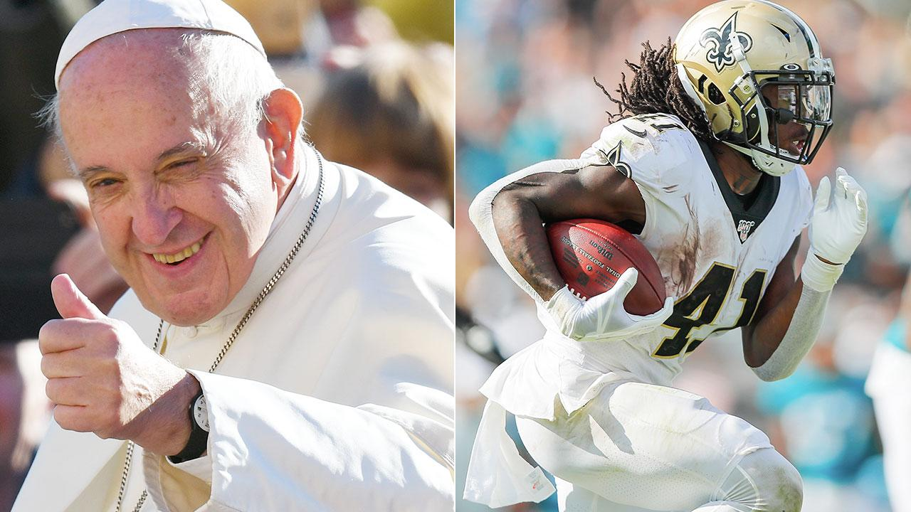 Pope Francis hilariously tweets support for NFL franchise