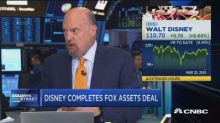Jim Cramer: The Disney/Fox deal could boost Disney stock