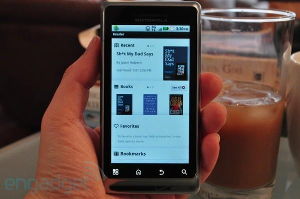 Sony Reader app finally available for Android, only works with 2.2 and higher