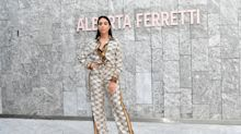 MFW: Los looks de Georgina Rodríguez y otras famosas en el desfile de Alberta Ferretti