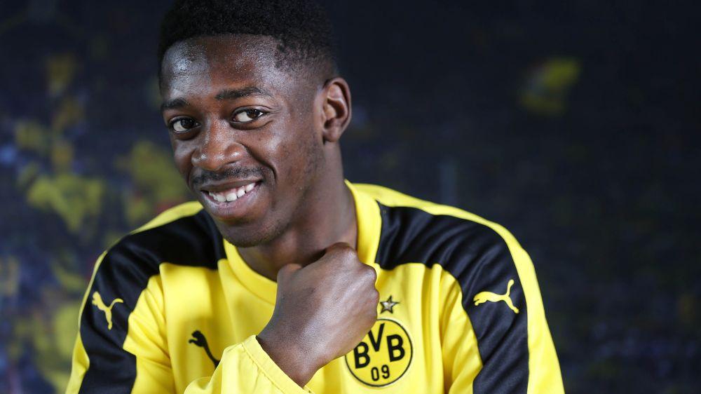 Ousmane Dembele schwört Borussia Dortmund die Treue