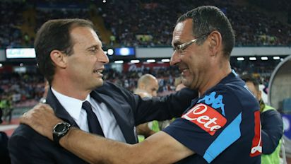 'For once, I beat Allegri!' - Sarri thrilled to be honoured as Serie A's best coach