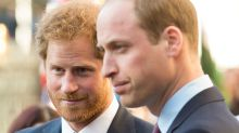 Prince William's 'cold' birthday message to Prince Harry slammed