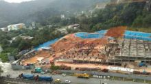 (BREAKING) Landslide strikes Penang construction site; 15 people feared buried