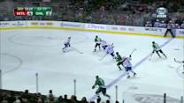 Stars tie it with two goals in 46 seconds
