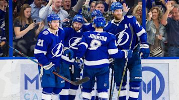 Lightning's Kucherov first in NHL to 100 points