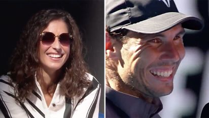 Rafa's sweet moment: 'She doesn't need wildcards'