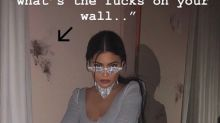 Kylie Jenner Has an Explanation for Those Dark Splotches on Her Walls