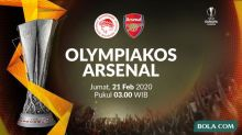 Link Live Streaming SCTV: Olympiakos vs Arsenal di Liga Europa