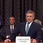 "'Saturday Night Live' Turns ""Boring"" Impeachment Hearings Into Soap Opera Starring Jon Hamm"