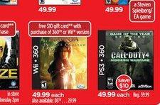 Deal time: CoD4 GOTY for $49, gift card with Narnia