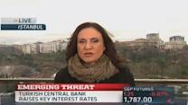 Turkish central bank imposes drastic rate hike