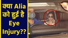Alia Bhatt spotted with eye patch on Sun Glasses, People Wonder about the reason