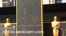 Oscar 2020. Look red carpet, la top 5