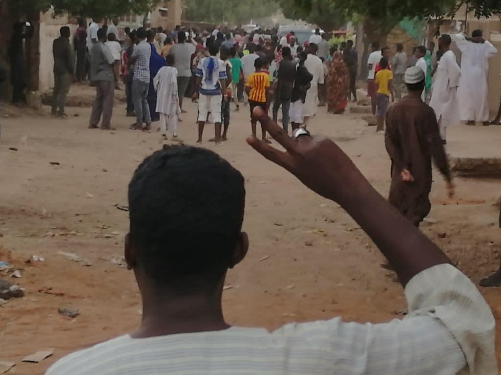 Protests sparked by economic hardships have rocked Sudan since December (AFP Photo/-)