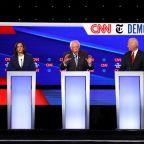 Democratic presidential candidates attack Elizabeth Warren on health care