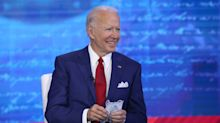 Biden tops Trump for town hall television ratings