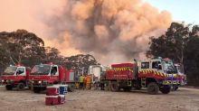Canberra sous un épais nuage toxique, les incendies gagnent du terrain
