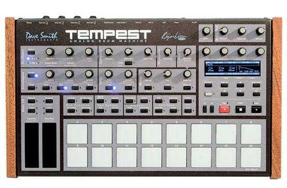 Synth pioneer Roger Linn shows us his new analog drum machine, Tempest (video)