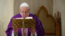 Papa mantém a 'esperança de um tempo melhor' após o coronavírus