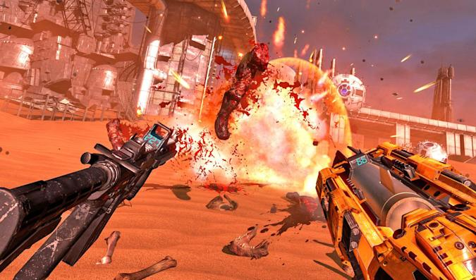 Serious Sam's next adventure will be in virtual reality
