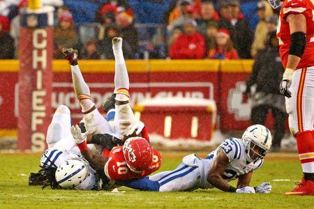 NFL  AFC Divisional Playoff-Indianapolis Colts at Kansas City Chiefs 578571adc