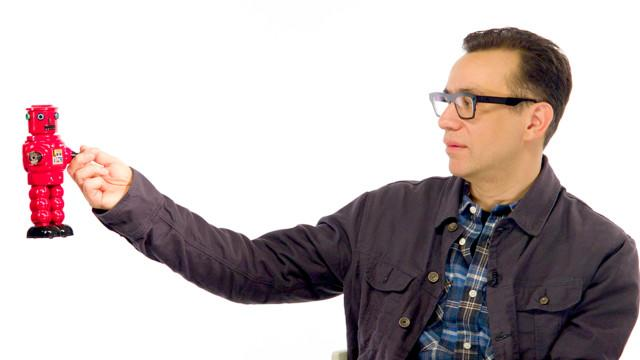 Watch a Robot Interview Portlandia's Fred Armisen