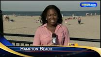 Granite Staters head to beach on hot day