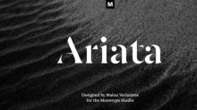 Experience the Latest in Type Design Innovation with Five New Designs from the Monotype Studio