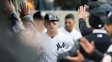 After once outplaying QB Jimmy Garoppolo, Mike Tauchman making a name for himself as a Yankee