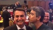 """Márcio Garcia viraliza em vídeo com Bolsonaro e é criticado por José de Abreu: """"Ex-amigo"""""""