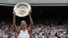 Muguruza claims Wimbledon women's crown
