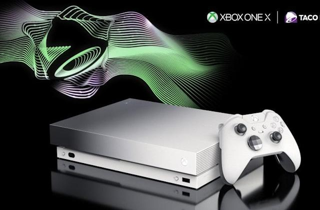 You can win a limited edition Xbox One X, but only by eating Taco Bell