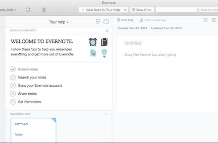 The new Evernote app for OS X is a joy to use