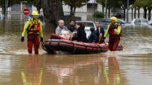 Enchentes deixam ao menos 13 mortos no sul da França