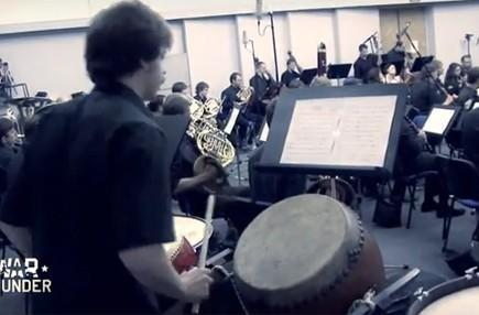 Watch an orchestra perform War Thunder's Symphony of Steel