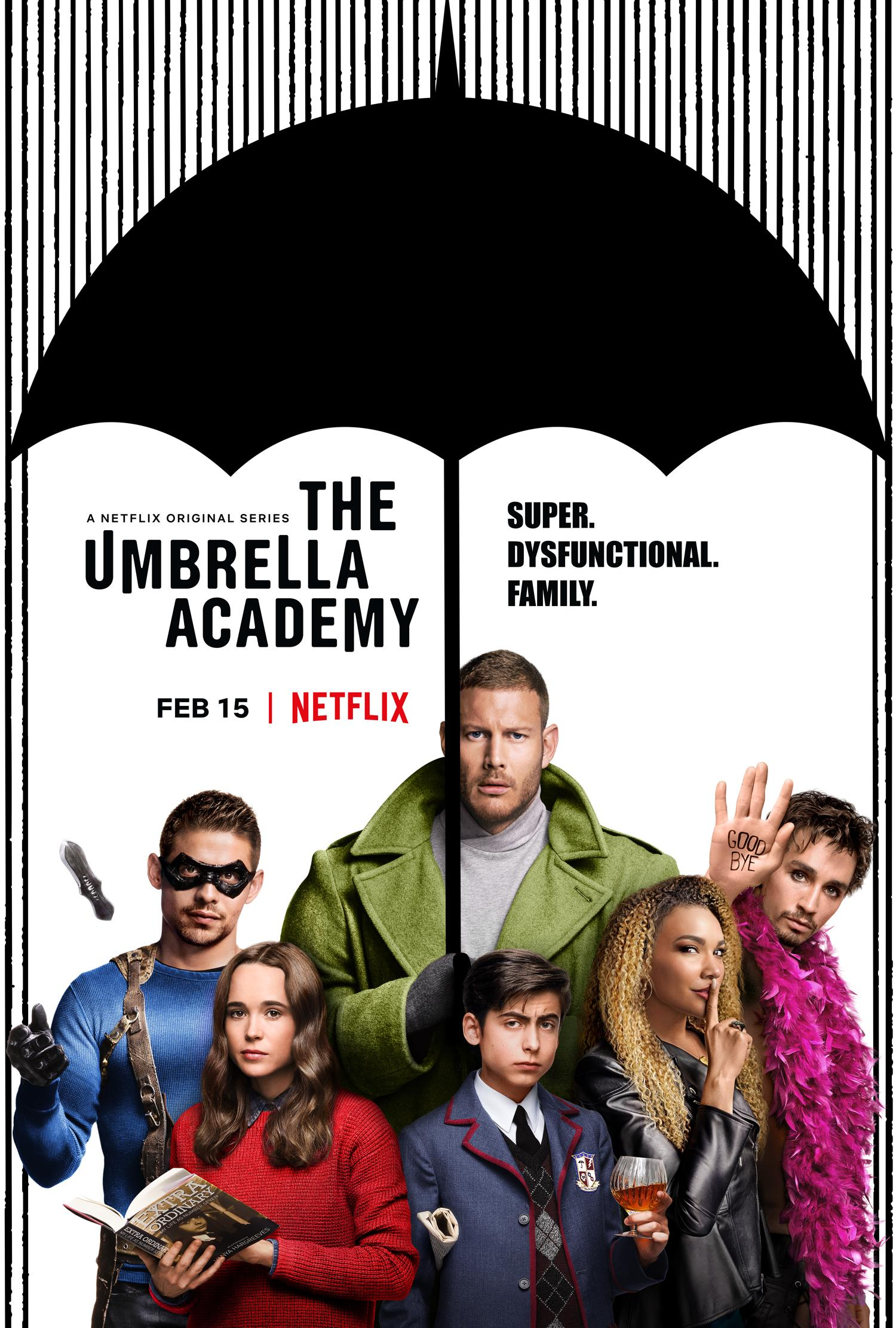 Umbrella Academy Trailer: Ellen Page Leads Netflix Superhero Adaptation