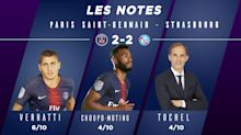 PSG-Strasbourg (2-2) : Les notes des Parisiens